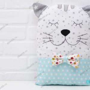 Бортик подушка Котик.