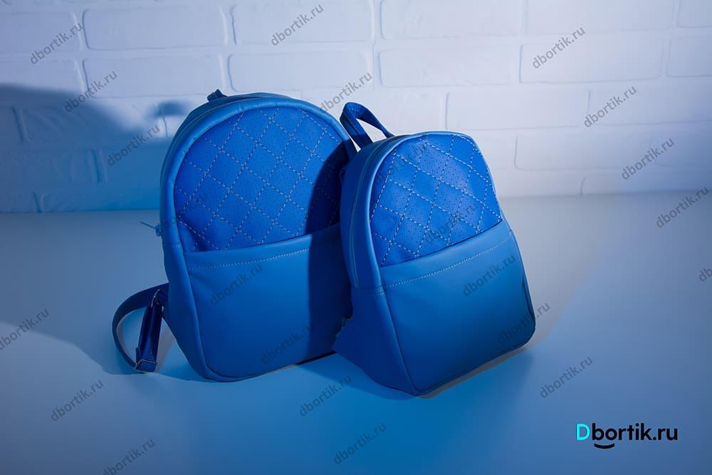 Мастер-класс по пошиву кожаных рюкзаков для мамы и ребенка