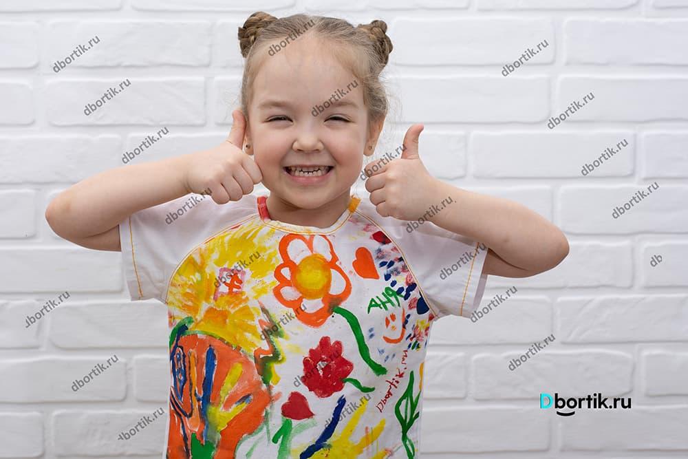 Мастер-класс по пошиву детской футболки с принтом