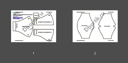 Обзор выкройки защитной маски на взрослого с фильтром