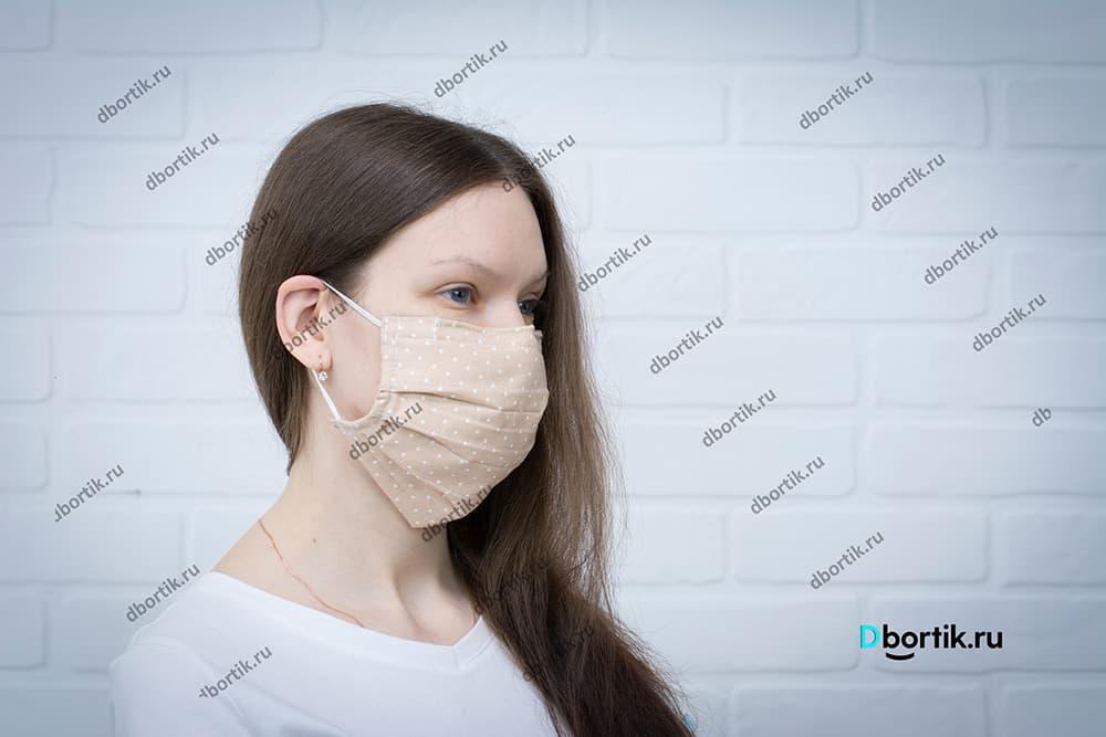 Защитная маска на взрослого
