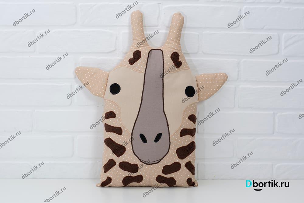 Выкройка бортика, подушки Жираф