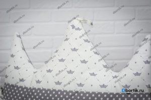 Мастер-класс по пошиву бортиков подушек Короны и Облачка - 10