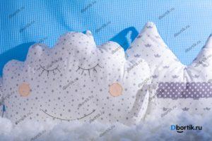 Мастер-класс по пошиву бортиков подушек Короны и Облачка - 3