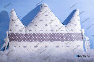 Мастер-класс по пошиву бортиков подушек Короны и Облачка - 6