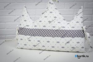 Мастер-класс по пошиву бортиков подушек Короны и Облачка - 9