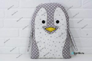 Бортик подушка Пингвин