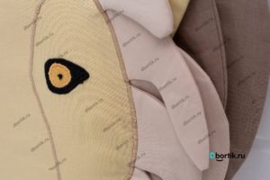 Подушка бортик Лев