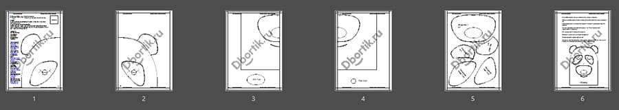 Обзор выкройки бортиков подушек Панда 2