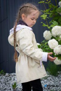 Детская куртка парка, плечо, рукав