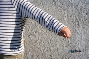 Детская кофта пуловер, рукав, крупный план