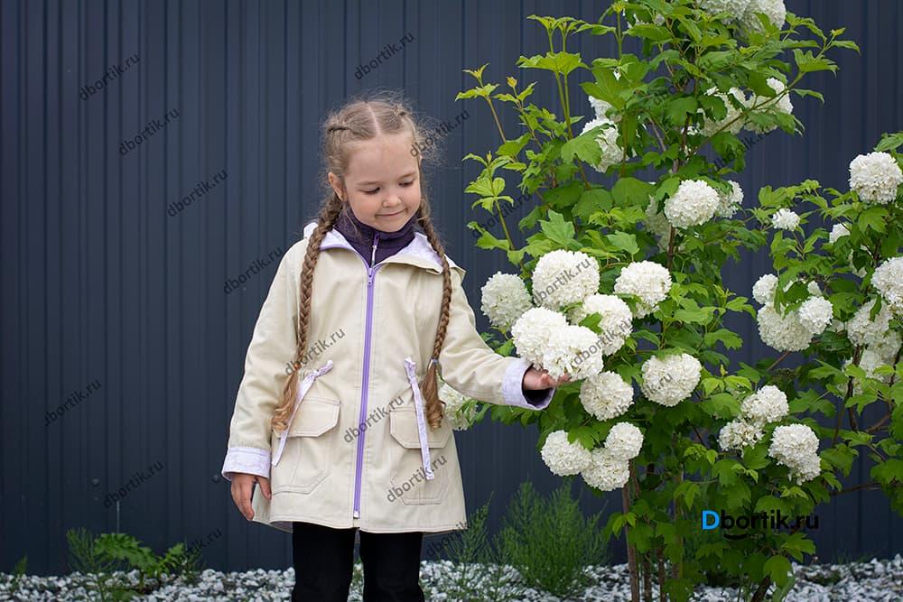 Мастер-класс по пошиву куртки парки на ребенка. Готовый вид.