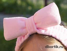 Выкройка - Бьюти повязка на голову