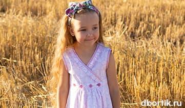 Мастер-класс, пошив детского платья на запах