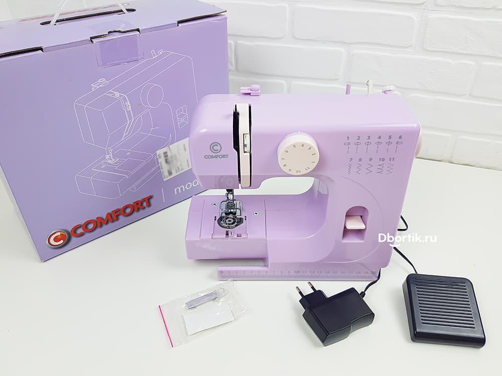 Комплектация швейной машины Comfort 6