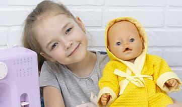 Мастер-класс по пошиву халата с капюшоном на куклу
