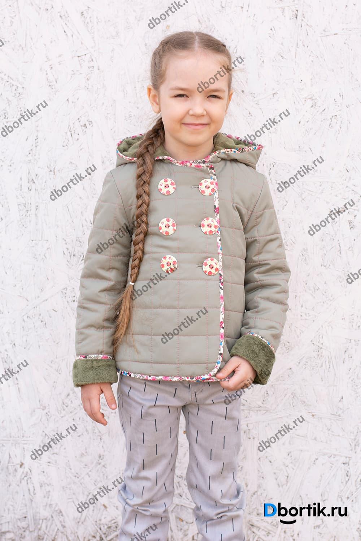 Мастер-класс по пошиву детской лёгкой куртки