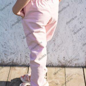 Детские джинсы джоггеры. Вид сзади.