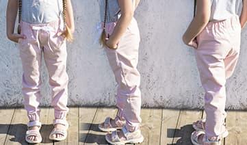 Мастер-класс по пошиву детских джинс джоггеров, фото