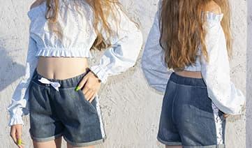 Мастер-класс по пошиву кофты и шорт на девочку подростка